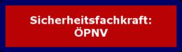 Sicherheitsfachkraft: ÖPNV