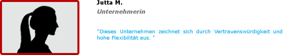 Bewertung - Jutta M.