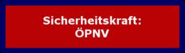 "Zum Lehrgang: ""Sicherheitskraft: ÖPNV"""