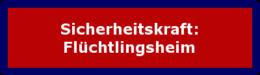 "Zum Lehrgang: ""Sicherheitskraft: Flüchtlingsheim"""